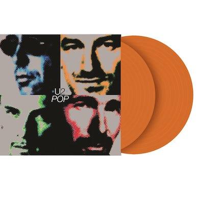 U2 Pop Limited Edition Orange Vinyl 2LP