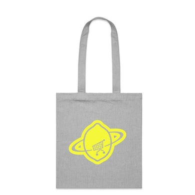 U2 Pop Grey Logo Tote Bag