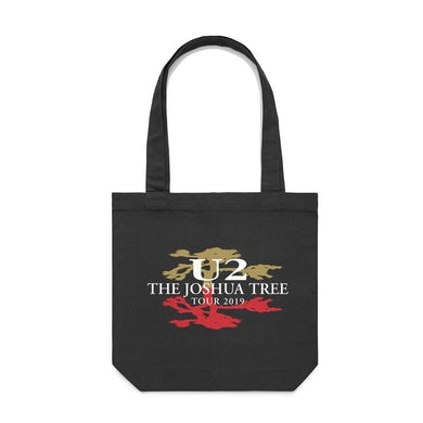U2 Joshua Tree Tour Logo Tote Bag