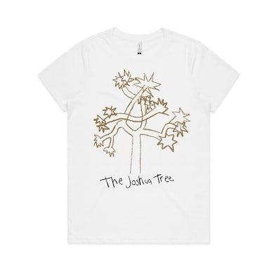 U2 Joshua Tree Cartoon Women's T-shirt