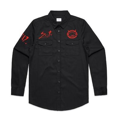 U2 Zoo TV Military Style Shirt