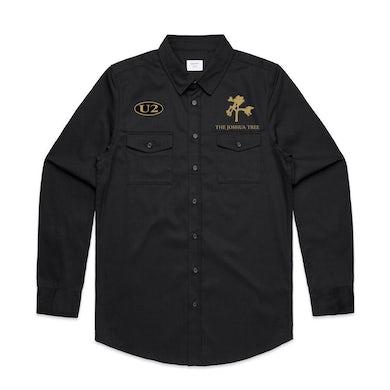 U2 Joshua Tree Military Style Shirt