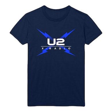 U2 X-Radio Deep Navy Tee