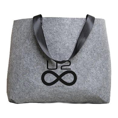 U2 ATYCLB Felt Tote Bag