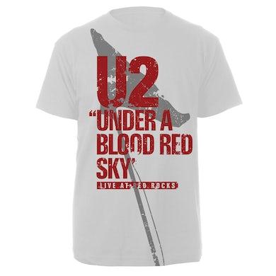 U2 Red Rocks White Tee