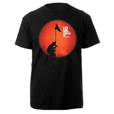 U2 Red Rocks Black Tee