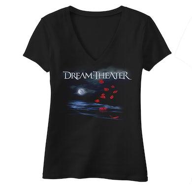 Dream Theater Women's Rose Petals North American Tour 2019 V-Neck