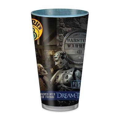 Dream Theater Barstool Warrior Pint Glass