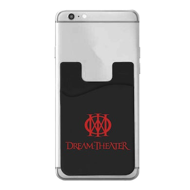 Dream Theater Logo Silicone Phone Wallet