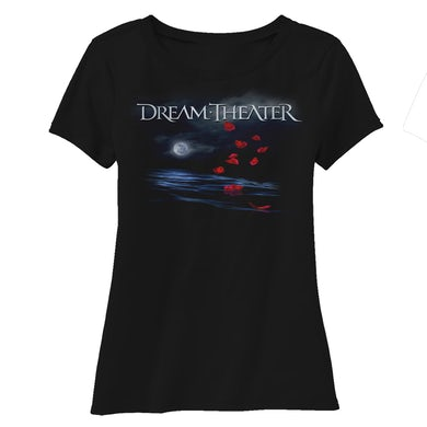 Dream Theater Women's Rose Petals North American Tour 2019 Scoop Neck