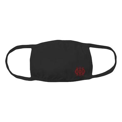 Dream Theater Dark Red Mini Logo Face Mask