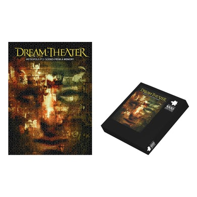 Dream Theater Scenes From A Memory Jigsaw Puzzle
