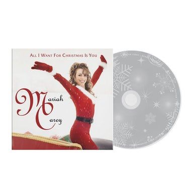 Mariah Carey Limited Edition All I Want For Christmas Is You Limited Edition CD Single