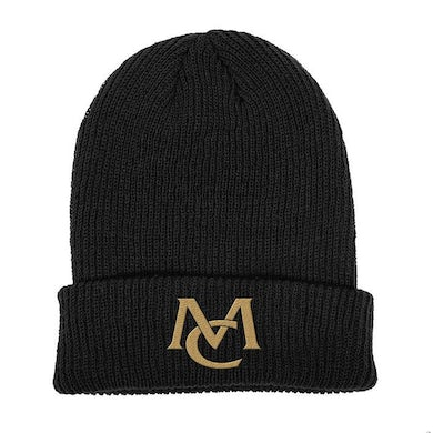 Mariah Carey MC Logo Beanie - black