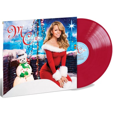 Mariah Carey Merry Christmas II You Limited Edition Red Vinyl