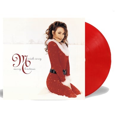 Mariah Carey Merry Christmas Red Vinyl