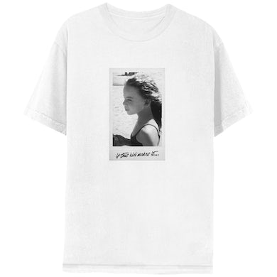 "Mariah Carey ""If This Kid Makes It…""  White Short Sleeve Tee"