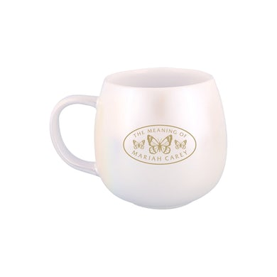 "Mariah Carey ""Keep Calm and Carey On"" Iridescent Mug"