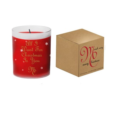 Mariah Carey All I want for Christmas Is You Red Candle