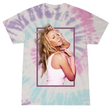 Mariah Carey Glitter Tie Dye Tee