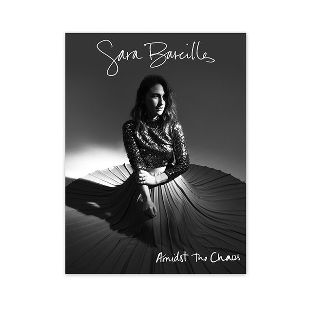 Sara Bareilles Amidst the Chaos Autographed Poster