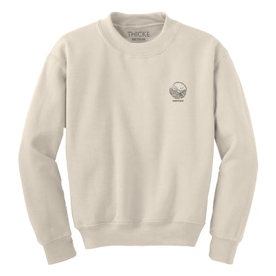 On Earth, and in Heaven Cream Crewneck