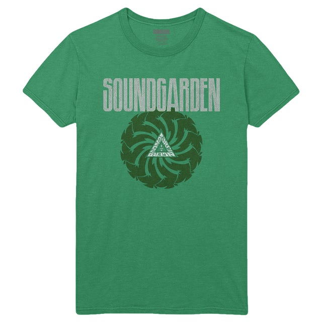 Soundgarden Green Badmotorfinger Limited Edition St. Patty's Tee