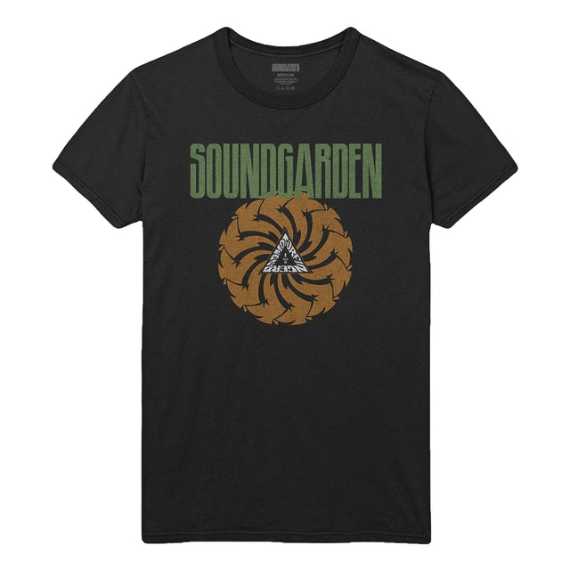 Soundgarden Black Badmotorfinger Limited Edition St. Patty's Tee