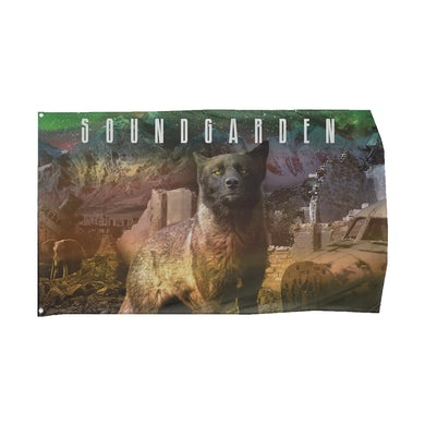 Soundgarden Telephantasm Wall Flag