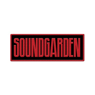 Soundgarden Type Logo Patch