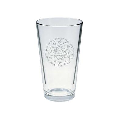 Soundgarden Sawblade Pint Glass