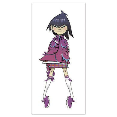 Exclusive - Gorillaz Noodle in Lilac Lithograph