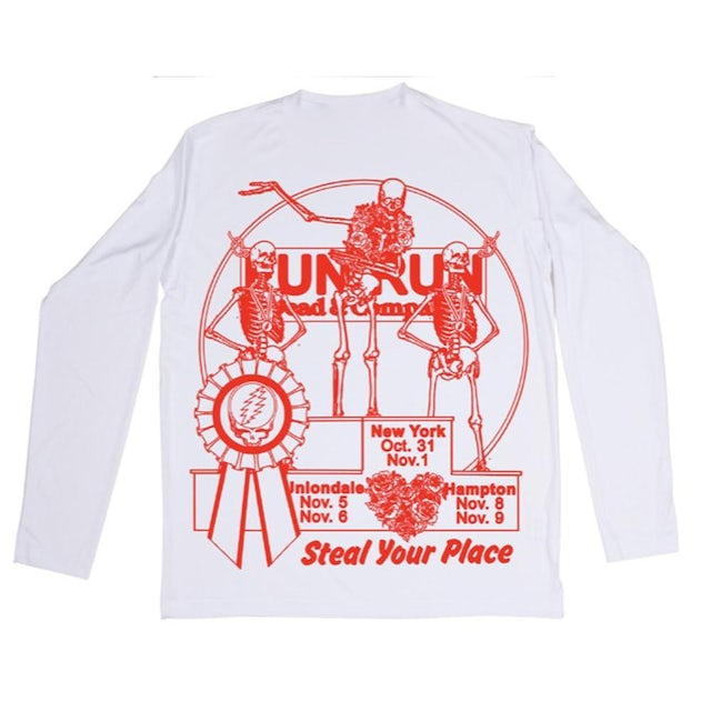 Dead & Company FALL FUN RUN LONG SLEEVE TEE
