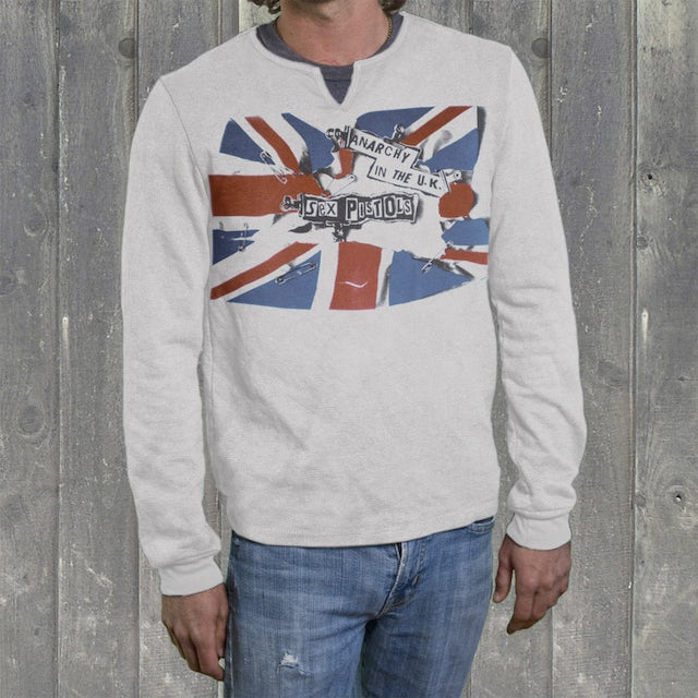 """Sex Pistols """"""""Anarchy in the U.K."""""""" Mens Thermal"""