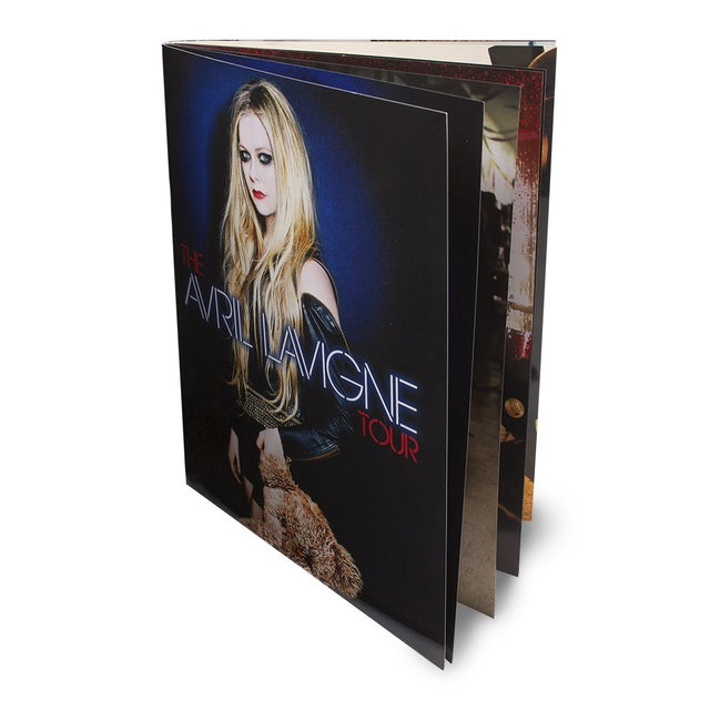 The Avril Lavigne Tour 2014 Program