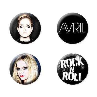 Avril Lavigne Button Pack