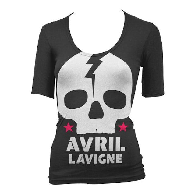 Avril Lavigne Skull Junior T-Shirt