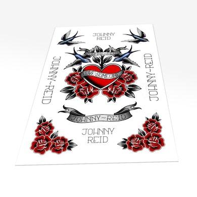 Johnny Reid Love Someone Temporary Tattoo Sheet