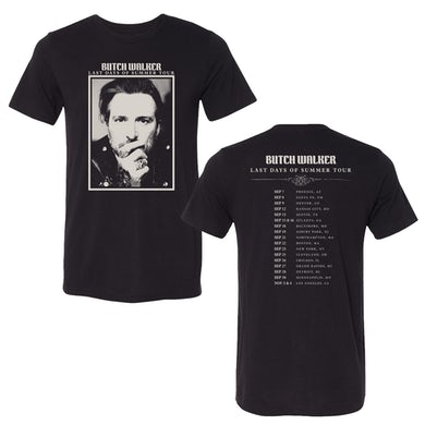 Butch Walker Last Days Of Summer Tour Tee