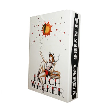 Butch Walker Cowgirl Playing Cards
