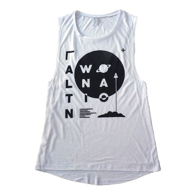 Awolnation White Space Muscle Tank