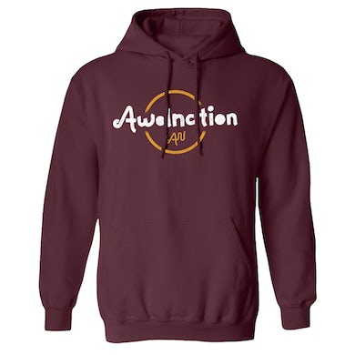 Awolnation Maroon Pullover Hoodie