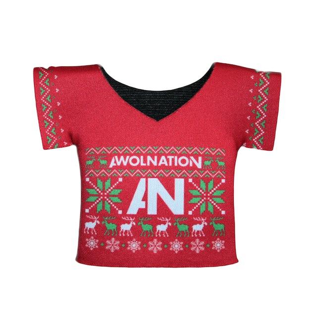 Awolnation Christmas Sweater Koozie