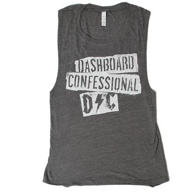 Dashboard Confessional Ladies Scraps Tank Top