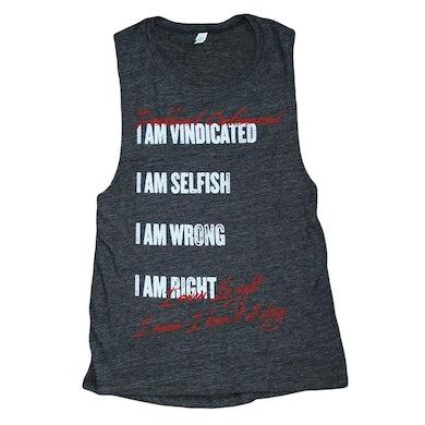 Dashboard Confessional Vindicated Ladies Tank