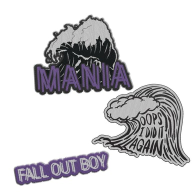 Fall Out Boy M A  N   I    A  Patches