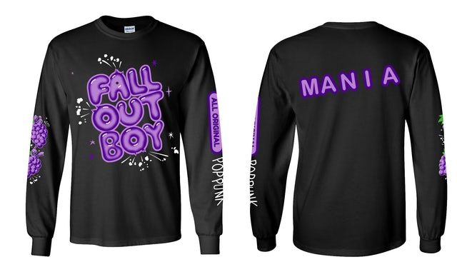 Fall Out Boy Chicago Exclusive Pop Rocks Long Sleeve Tee