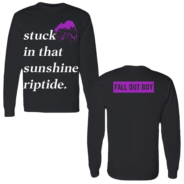 Fall Out Boy Sunshine Riptide Long Sleeve