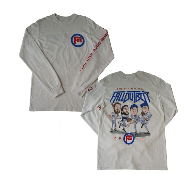 Fall Out Boy Chicago Exclusive Baseball Longsleeve