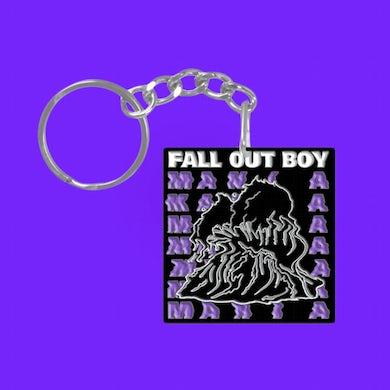 Fall Out Boy MANIA Enamel Keychain